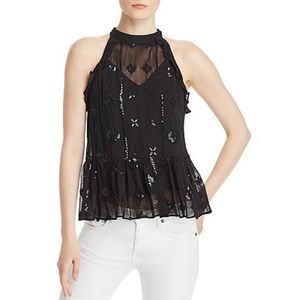 Generation Love Aria Embellished Peplum Top